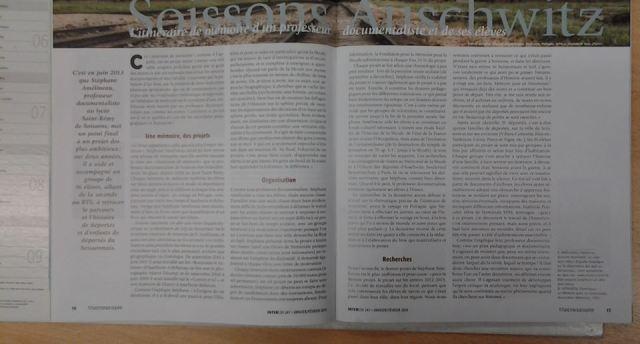 Article de Satah Sauquet dans InterCDI n°24 - janv-fév. 2014