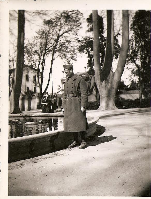 Charles Knoll en 1939-1940, soldat du 21e RMVE. [Source : collection privée, A.Kievitch]