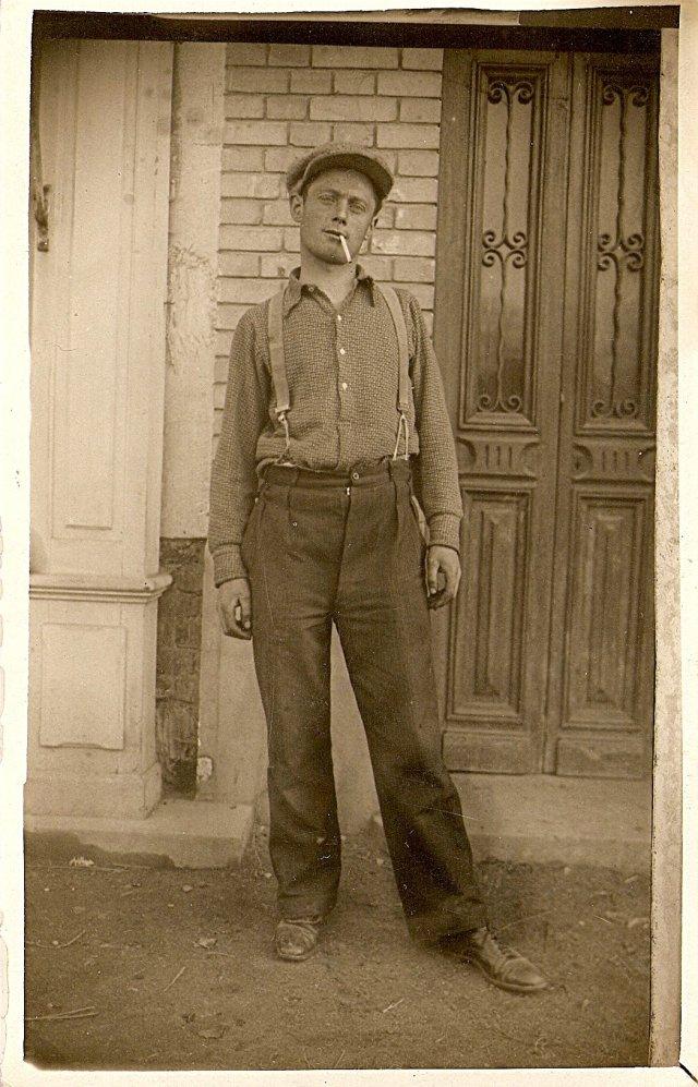 Charles Knoll dans les années 1930. [Collection privée A.Kievitch].