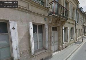 10, rue de Panleu, ancien dortoir du Collège de Jeunes filles à Soissons pendant l'occupation allemande.