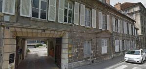 7, rue de Panleu à Soissons ancien réfectoire du Collège de Jeunes filles pendant l'occupation allemande.