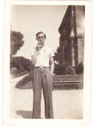 Charles Wasjfelner 1924-1942, arrêté à Soissons le 21 juillet 1942 et déporté dans le convoi n°12 du 26 juillet 1942 de Drancy à AuschWITZ [Archives privées Stéphane Amélineau].