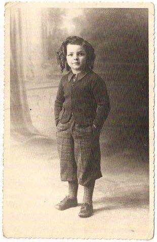 Charles Tischler 1940-1941 [Fonds privé, don de Lisette Gal-el à l'auteur, cousine de Charles Tischler].