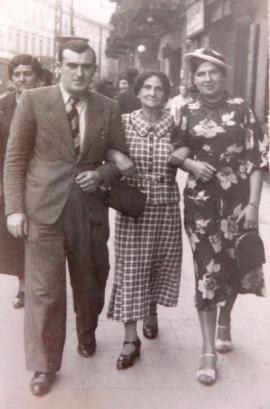 Eszenbaum Israël ,sa mère décrit dans sa lettre et Eszenbaum Perla ( Zagiel)