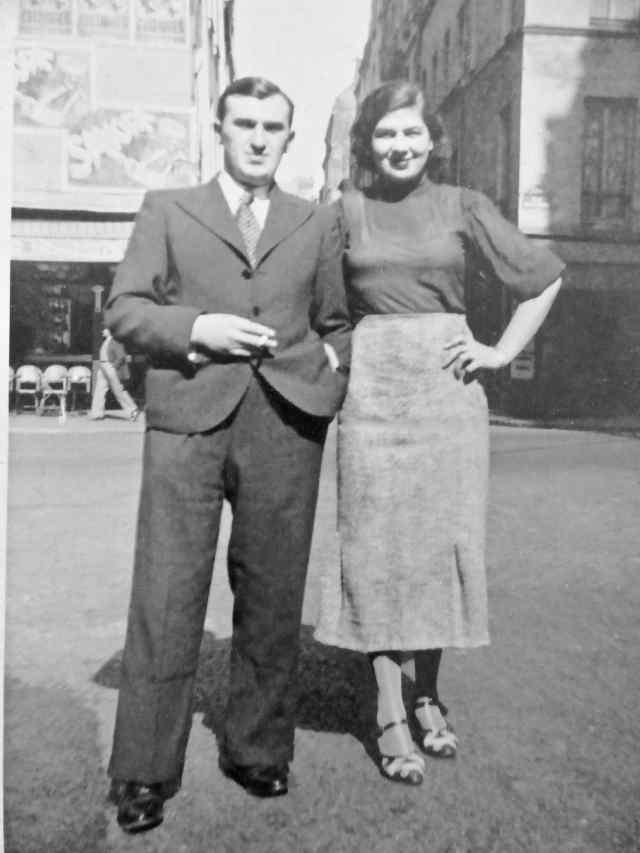 ESZENBAUM Israel ou Isaac et son épouse ESZENBAUM Perla née ZAGEL ou ZAGIEL