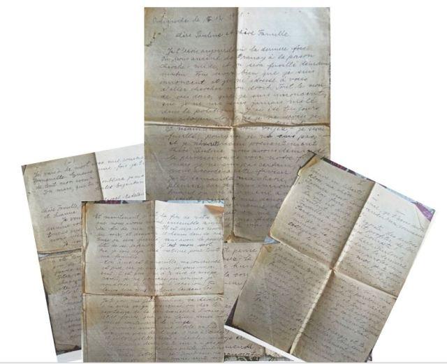MONTAGE dernière lettre d'Isarel