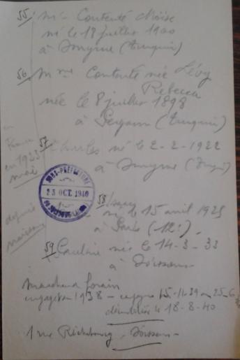 19401023 Déclaration CONTENTE
