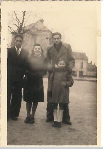 1i Soissons 1941 Charles Contenté Samuel Biegacz Zina Pauline Contenté