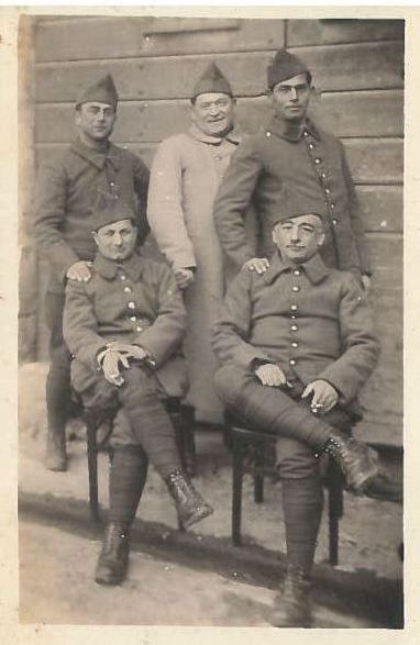 2b 1939 Barcarès Moîse C Alphonse L Jacques E tous debout