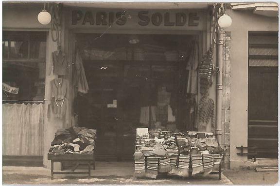 3a Magasin Moise Contenté avant 1940 rue des Chaperons Rouges