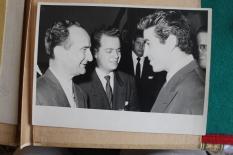 """Le président José Figueres dit """"Don Pepe"""" de la république du Costa-Rica entre 1953 et 1958. [Collection particulière]."""""""