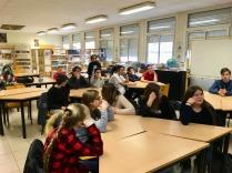 Elèves de 3è du collège Lamartine Soissons [Avec l'aimable autorisation du Collège et des collègiens].