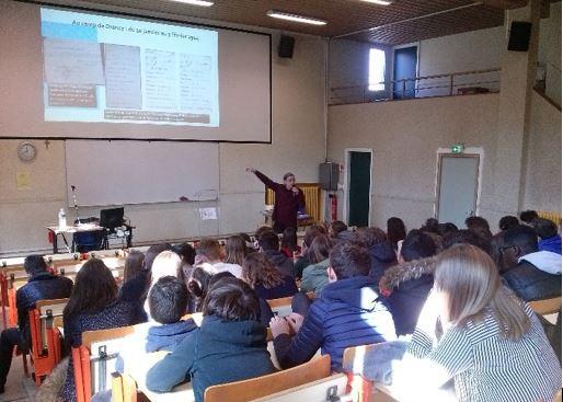 Collège Lycée Amiens mars 2019