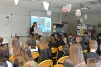 Rencontre avec les 3e Curie et Pasteur
