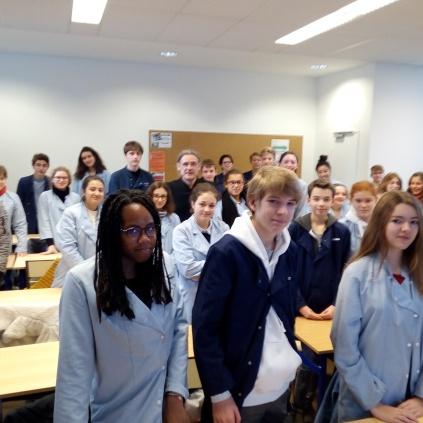 Collège A-M Javouhey Senlis (Oise - 5 décembre 2018)