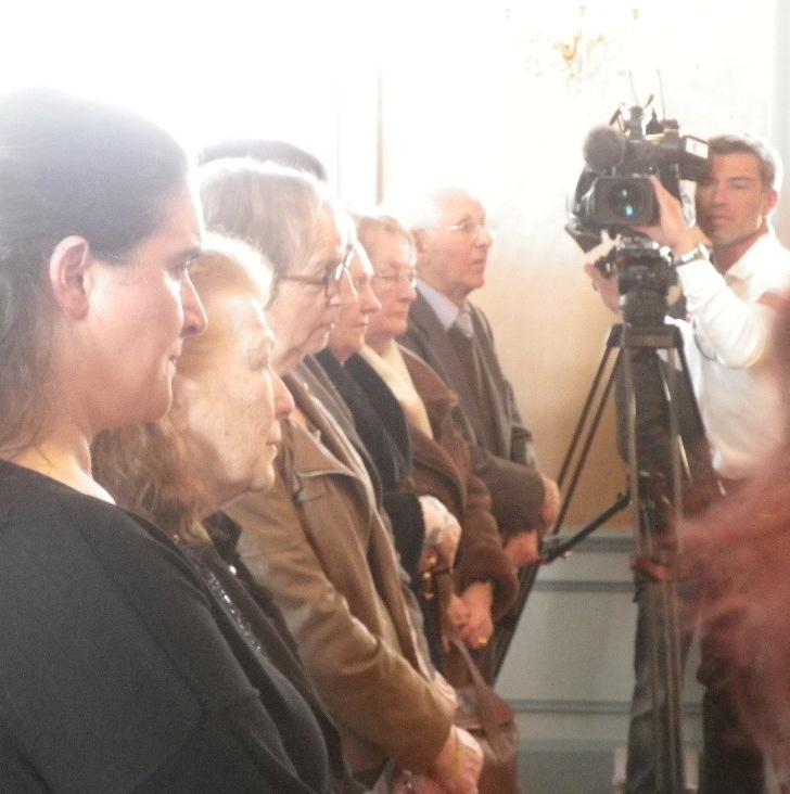 Cérémonie des Justes -Mairie de Soissons 7 avril 2013