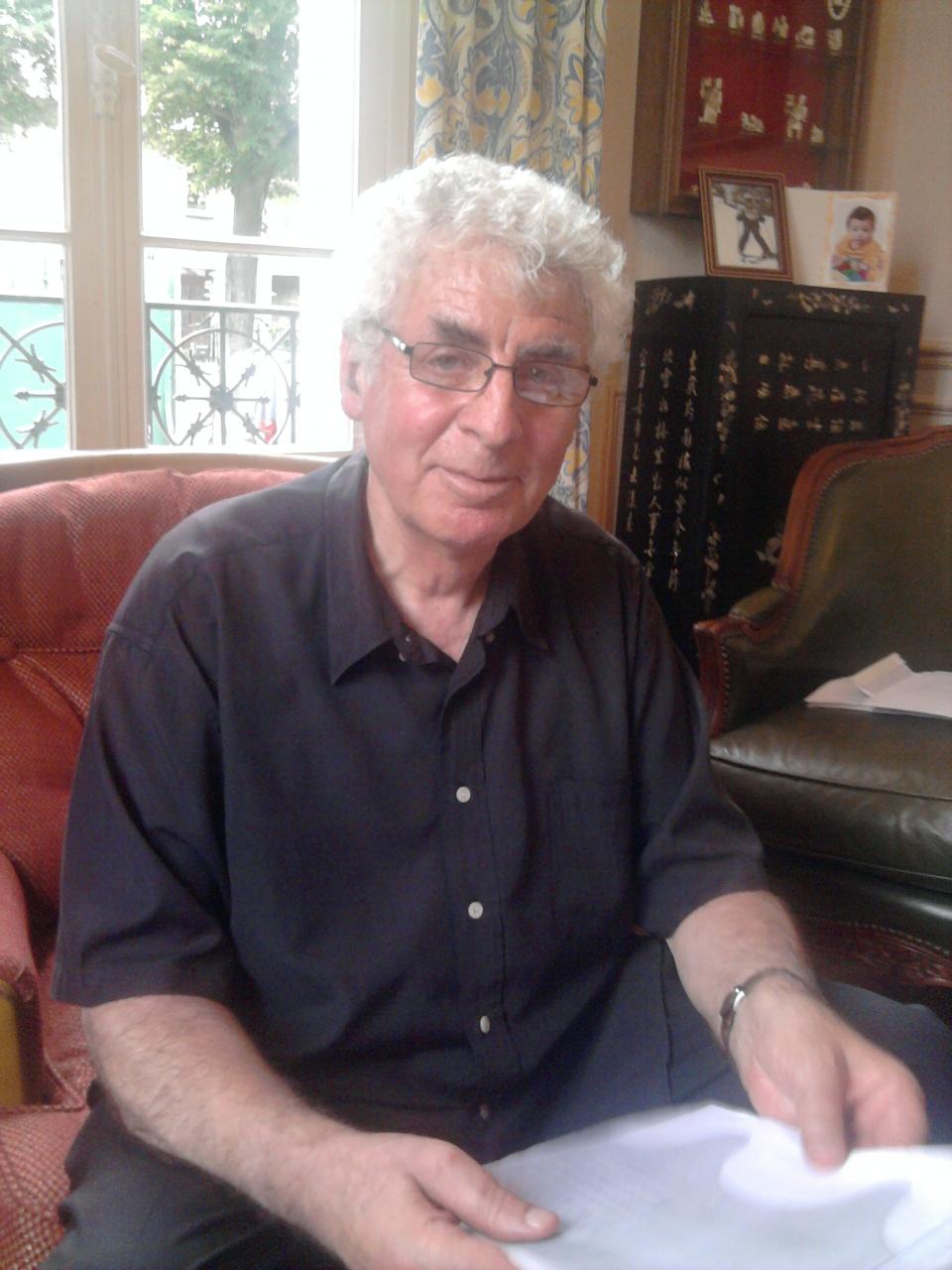 202120626 Jacques KATZ fils de Rachel et d'Henri à son domicile le 26 juin 2012